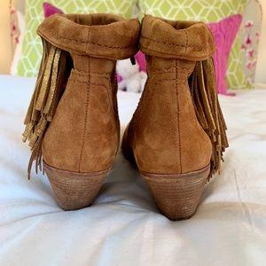 Sam Edelman Shoes - Sam Edelman fringe booties